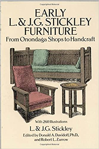 Early L. U0026 J. G. Stickley Furniture: From Onondaga Shops To Handcraft: L. U0026  J. G. Stickley: 9780486269269: Amazon.com: Books