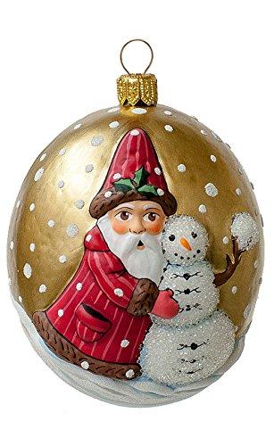 Vaillancourt Santa w Snowman