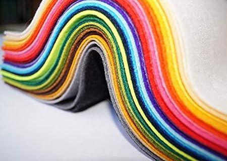 Fieltro Fino 34 Colores-Pack Mini (20x10cm): Amazon.es: Hogar