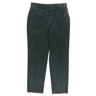 Michael Michael Kors Mens Sharkskin Formal Dress Pants Blue 4230 At