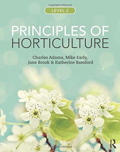Horticulture Books Pdf