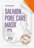 Skin Rejuvenation Clinic - Pore Refining Face Mask - 10 Sheets of HPDR 1% Salmon DNA Professional Dermatology Clinic