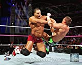 World Wrestling Entertainment David Otunga 2013 Action Photo 11 x 14in