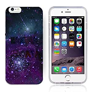 """Africa Ancient Proverb HAKUNA MATATA Color Accelerating Universe Star Design Pattern HD Durable Hard Plastic Case Cover for iPhone 6 (4.7"""")"""