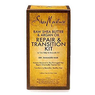 SheaMoisture 1 count Raw Shea Butter & Argan Oil Repair & Transition Kit