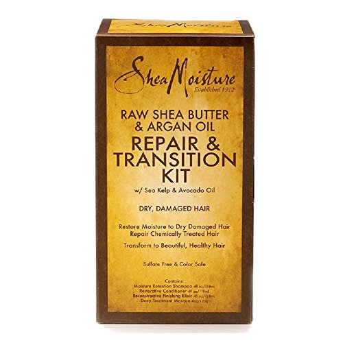SheaMoisture 1 count Raw Shea Butter & Argan Oil Repair & Transition Kit