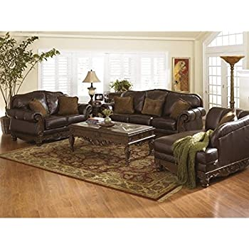 Amazon.Com: North Shore Living Room Set By Ashley Furniture