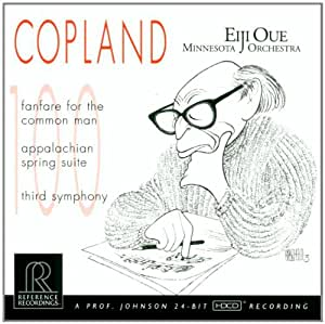 Copland: Fanfare for the Common Man, Appalachian Spring Suite, Third Symphony