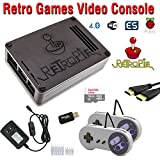 RetroBox - Raspberry Pi 3 Based Retro Game Console, 16GB Edition, Black Matte Case, RetroPie