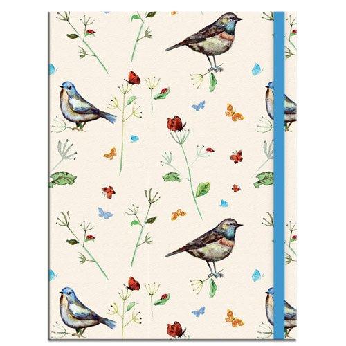Birdsong A5 Notebook: With Elastic Closure pdf epub