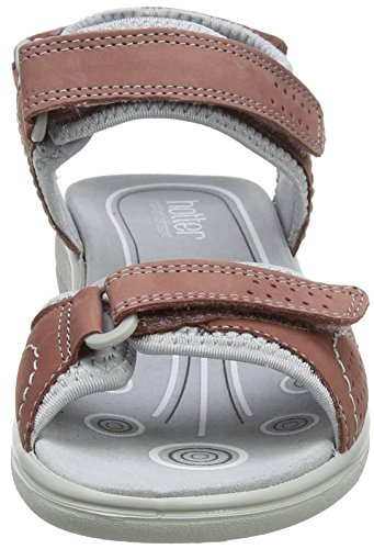 Pink Hotter Sandals WoMen Toe Mae Open Salmon BFXBT
