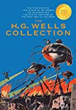 img - for The H. G. Wells Collection (5 Books in 1) The Time Machine, The Island of Doctor Moreau, The Invisible Man, The War of the Worlds, The First Men in the Moon (1000 Copy Limited Edition) book / textbook / text book