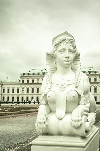 Statue Of Naked Woman With A Lion Body Belvedere Palace In Vienna Austria Europe Art Poster 18 X 28 Amazon Ca Home Kitchen
