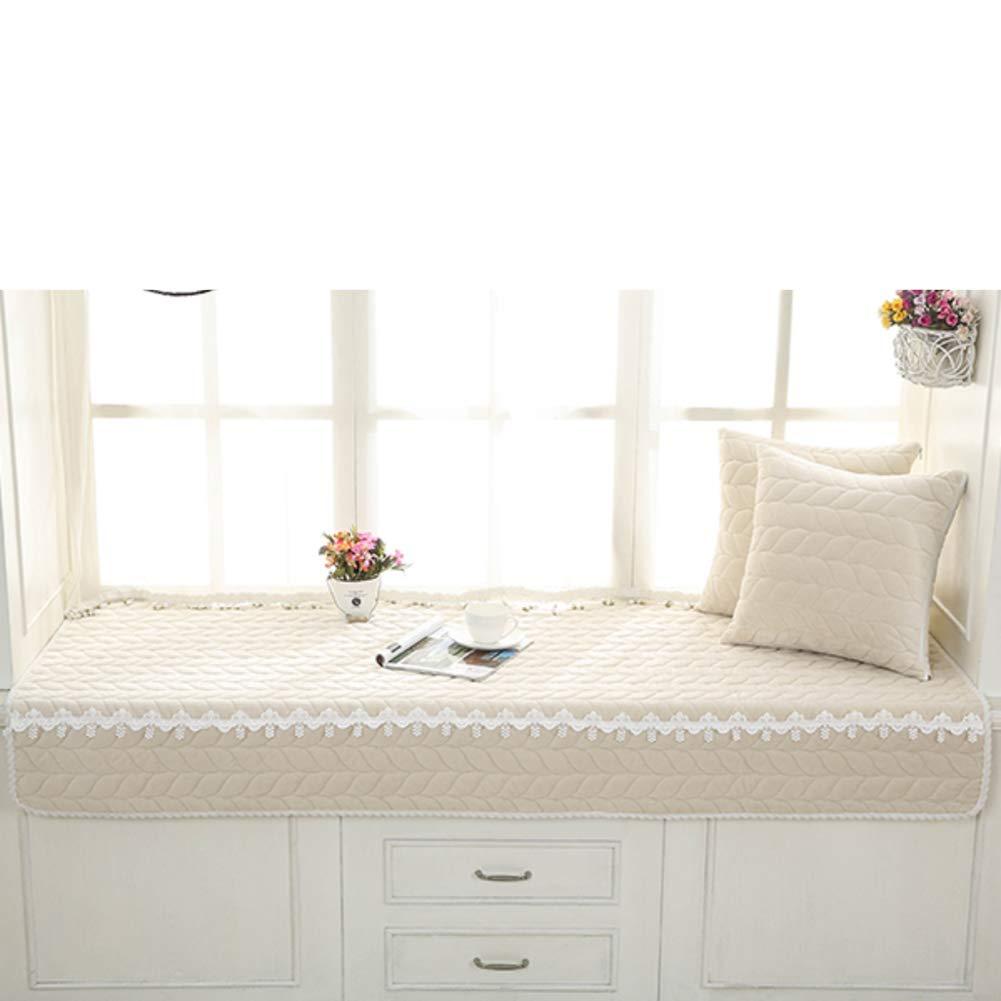 YU&AN Modern Minimalist,Bay Window Cushion,Window sill Blanket,Tatami Balcony Mat,Cushion,Window Mat for Bedroom Sofa-F 70x210cm(28x83inch)
