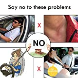 GAMPRO Car Seat Belt Cover Pad, 2-Pack Soft Faux