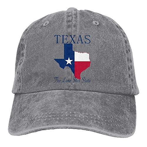 Eieskpo Texas The Lone Star State Denim Hat Adjustable for sale  Delivered anywhere in USA