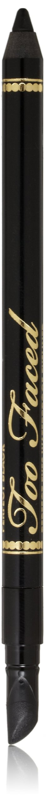 Too Faced Perfect Eyes Waterproof Eyeliner, Perfect Black, 0.04 Ounce