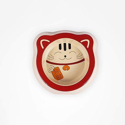 Cxq Petit Chien Chat Nourriture Bol Mignon Chat Chanceux De