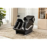 Relax Reclining Massage Chair- Zero Gravity Reclining Full Body Massage Chair (Black)