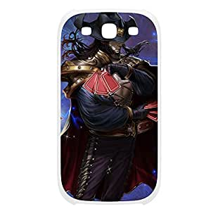 TwistedFate-005 League of Legends LoL case cover HTC One M8 Plastic White