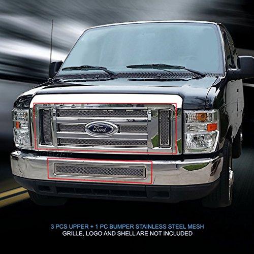Fedar Wire Mesh Grille for 2008-2014 Ford Econoline/E-Series Passenger
