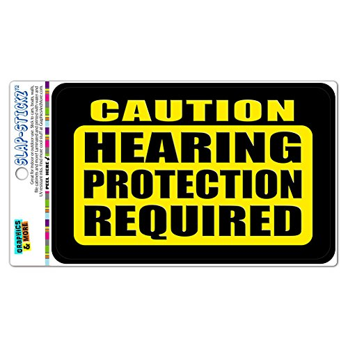 Caution Protection Required SLAP STICKZ Laminated