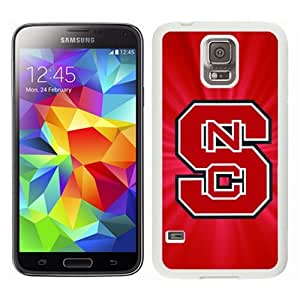 NCAA North Carolina State Wolfpack Case For Samsung Galaxy S5 I9600