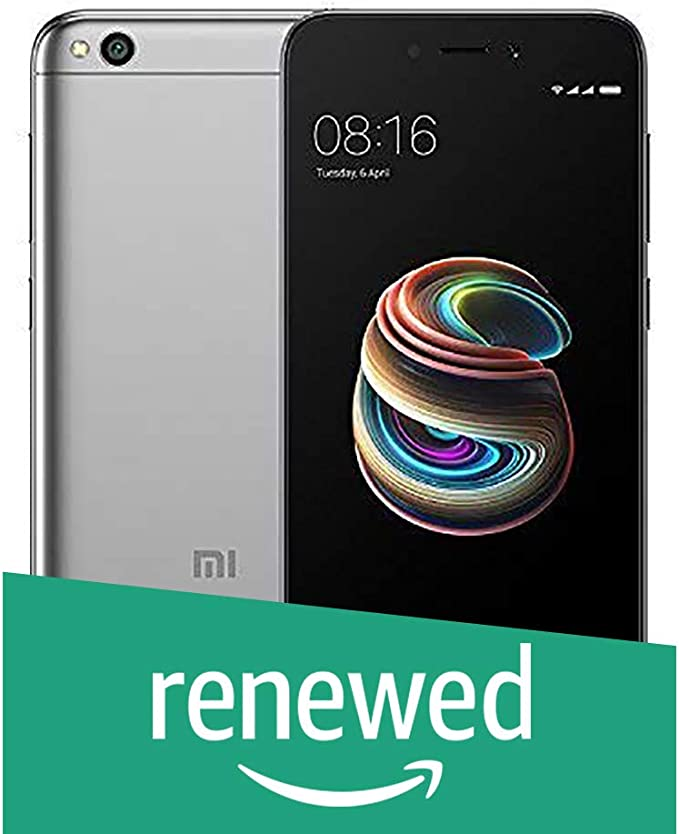 Renewed  Xioami Redmi 5A  Grey,32 GB   3  GB RAM  Smartphones