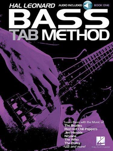 Hal Leonard Bass Tab Method Book/CD 1