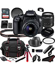 $449 » Canon EOS 1500D (Rebel T7) DSLR Camera Bundle + 18-55mm Lens | Built-in Wi-Fi|24.1 MP CMOS Sensor |DIGIC 4+ Image Processor and Full HD Videos + 64GB Memory (19pcs)