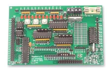 Gertboard Expansion Board For Raspberry PI (Fully Assembled) by Raspberry Pi
