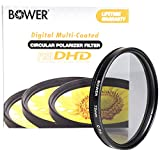 Bower FP72C 72 mm Pro Digital High Definition Circular Polarizing Filter (Black)