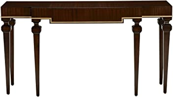 Ethan Allen Broderick Console Table, Hickory