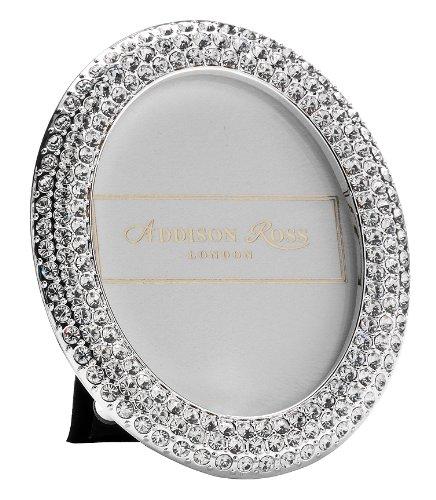 Addison Ross, Diamante Bling Photo Frame, 2.5x2.5, Oval, ...
