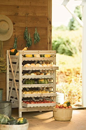 Orchard Rack, Garden Harvest Rack, 6 Drawer by Gardener's Supply Company (Image #1)