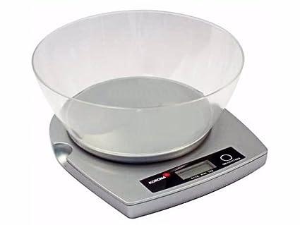 KORONA Balanza de cocina instalación en superficie de trabajo nuevo instalación báscula DIGITAL báscula para cocina