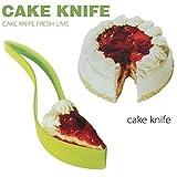 Delmkin 2015 New One-piece Cut Cake Knife Cutting Clip Cake Pie Slicer Knife Pizza Clips Birthdays, Weddings, Holidays, Kitchen