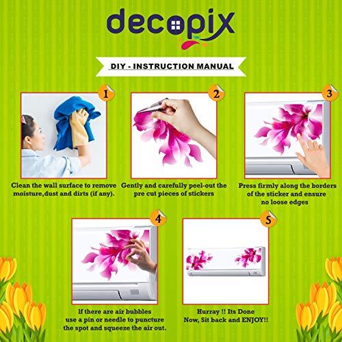 Decopix 'ac Sticker Fridge Sticker Wall Sticker Split Ac Stickers Air Conditioner Sticker - Standard Size (Fit for All Models/Sizes/Brands) (Vinyl, Multicolor)' - SM6057 51VLn 2T4HL India 2021