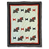 Furry Animals, Crib Quilt 36 X 46 In.