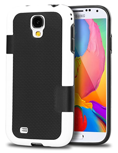 Shockproof Hybrid TPU Case for Samsung Galaxy S4 (Black) - 6