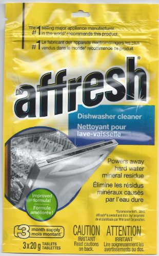 Whirlpool Affresh Dishwasher Cleaner 3X20g Tablets Per Pouch