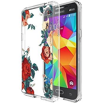 new concept aa104 e0557 Galaxy J3 Case, Galaxy J3V Case, Skmy Shockproof Hard PC+ TPU Bumper Case  Scratch-Resistant Cover for Samsung Galaxy J3 V/J36V, Galaxy Sky/Sol,  Galaxy ...