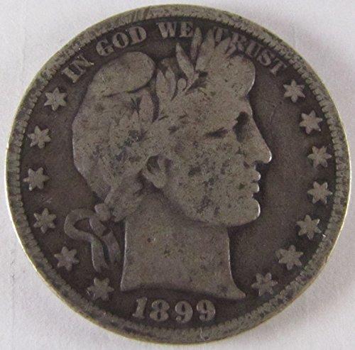 1899 Barber Half Dollar Fine