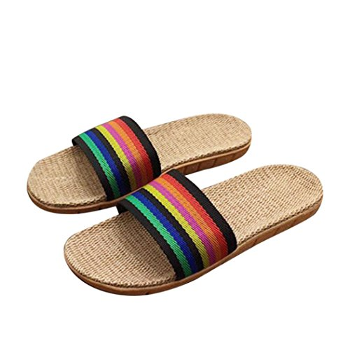 hunpta - Sandalias deportivas para mujer Multicolor
