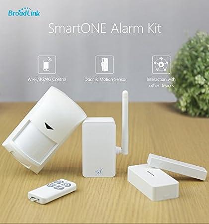 Broa DLINK S1/SmartOne Kit Sistema de seguridad alarma para puerta/detector de movimiento & SOS remoto para iOS Smartphone Android