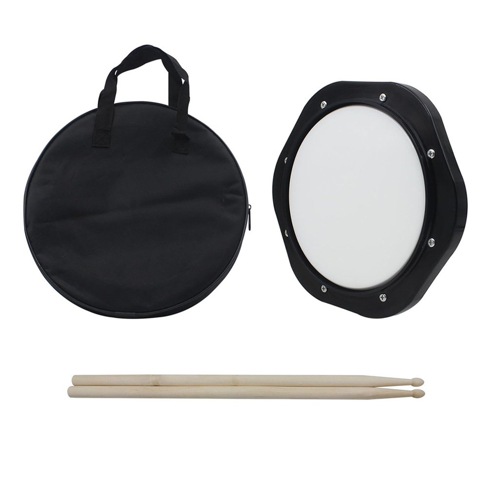 Mowind Drum Practice Pad 10 Inch Tunable with Drumsticks Carrying Bag CIT INTERNATIONAL LIMITED MW019