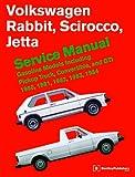 Volkswagen Rabbit, Scirocco, Jetta Service Manual: 1980-1984