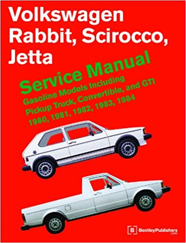 [WLLP_2054]   Volkswagen Rabbit, Scirocco, Jetta Service Manual: 1980-1984: Bentley  Publishers: 9780837617046: Amazon.com: Books | 1984 Vw Rabbit Diesel Wiring Schematic |  | Amazon.com