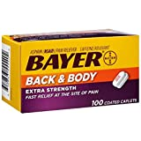 Bayer Back & Body Aspirin 500mg Coated Tablets