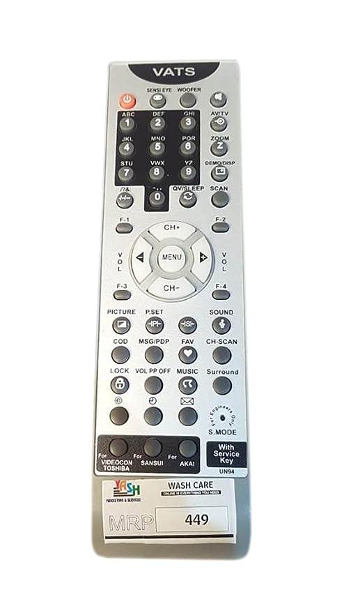 Compatible Universal Tv Remote Control For Videocon Amazonin